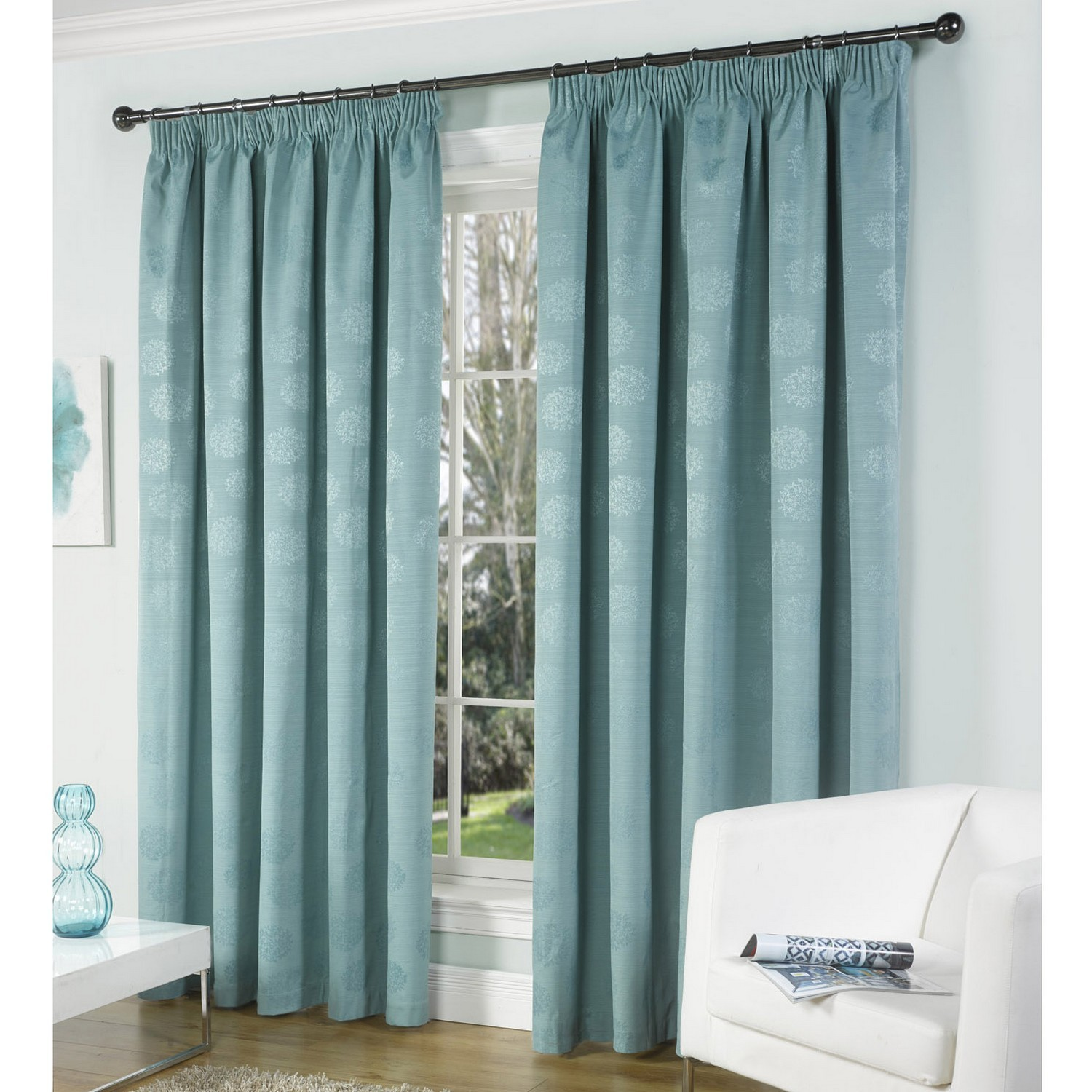 Light teal curtains - Curtains Gallery